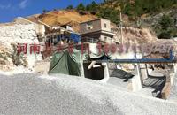 云南石灰石制砂生产线生产现场
