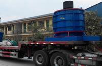 贵州立轴锤式制砂机发货现场